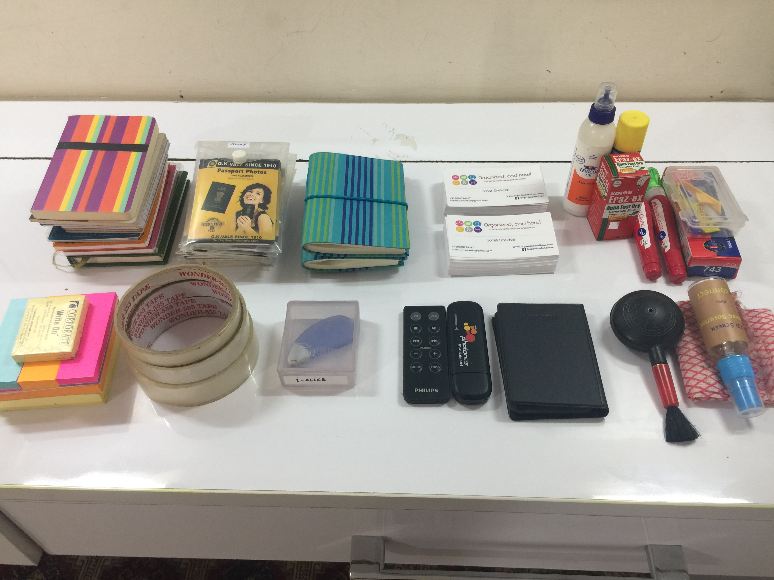 Decluttering Desk Drawer