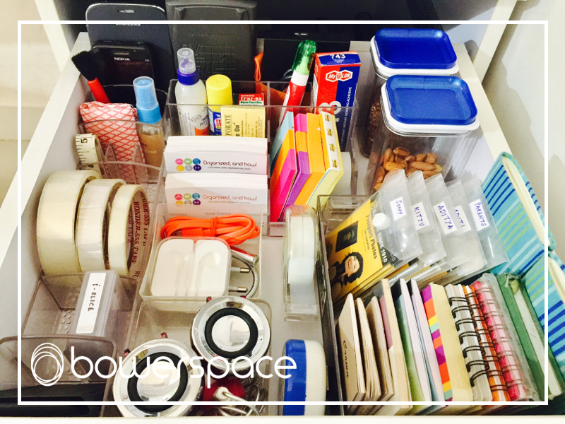 My Home Office Desk Drawer Organization