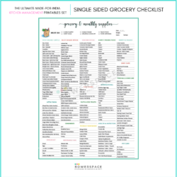 The Ultimate Indian Kitchen Checklist and Printables